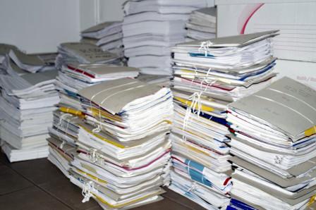 Stapels papieren